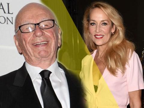 WTF? Rupert Murdoch is dating Mick Jagger's ex Jerry Hall