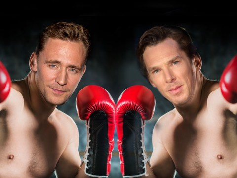 Not that they would but Tom Hiddleston doesn't want Cumberbitches and Hiddlestoners to fight