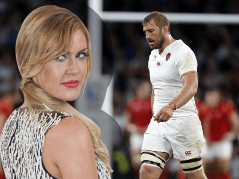 England rugby fans have been sending 'scary' abuse to Chris Robshaw's girlfriend Camilla Kerslake