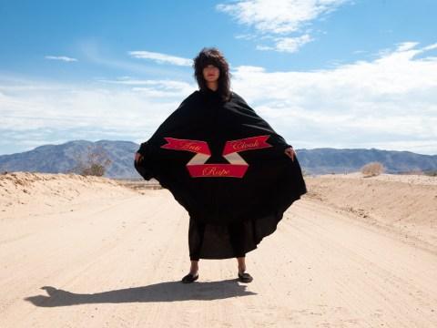 Artist creates an anti-rape cloak to protest victim blaming