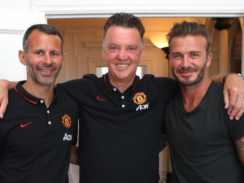Ryan Giggs would be the perfect Manchester United manager, says David Beckham
