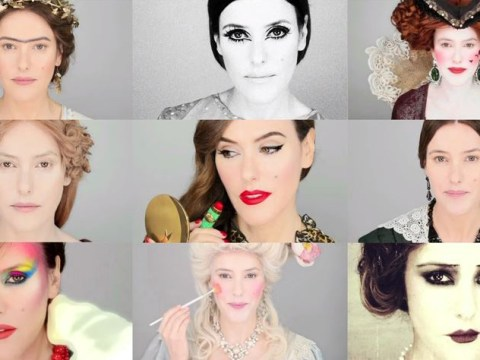 This video shows the incredible evolution of makeup in the last 5,000 years