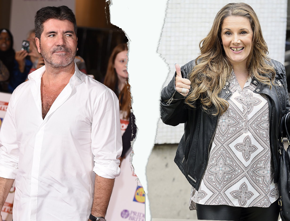 X Factor winner Sam Bailey is happy to be free from Simon Cowell after taking Sharon Osbourne's advice
