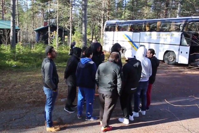 Sweden to remove refugees who say countryside is 'too cold' from bus