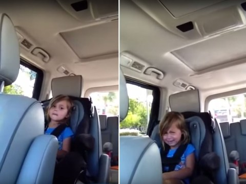 Little girl just discovered Adam Levine is already married and she is devastated