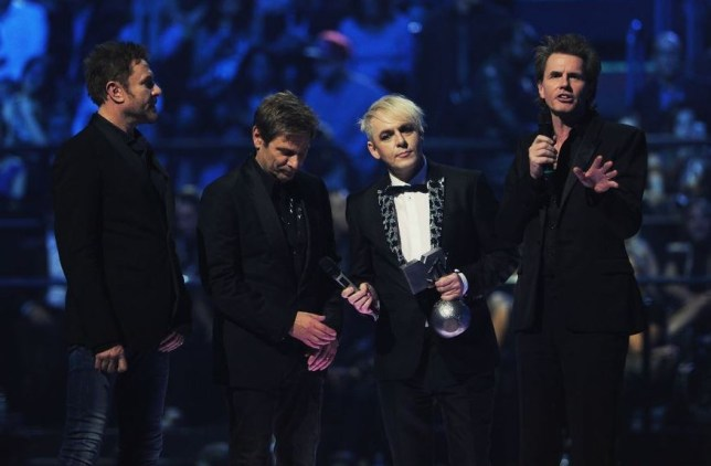 Duran Duran got cut from the American broadcast (picture: Getty)