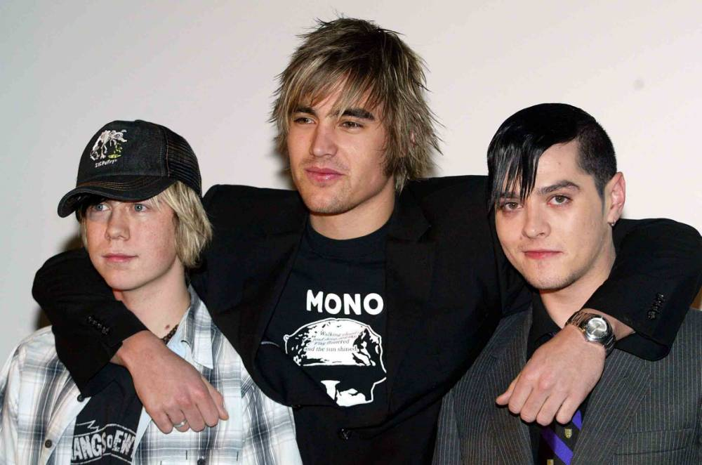 """Members of the Pop Band Busted James Bourne Charlie Simpson and Matt Willis Busted today revealed that they have split for good following weeks of speculation. The trio confirmed that they made the decision because of the departure of frontman Charlie Simpson. """"From this day on I'm sorry to say that Busted is over,"""" member James Bourne told a press conference at the Soho Hotel in London. Simpson, 19, has formed a new rock band - Fightstar - which is due to begin its first UK tour tonight. . REXMAILPIX."""