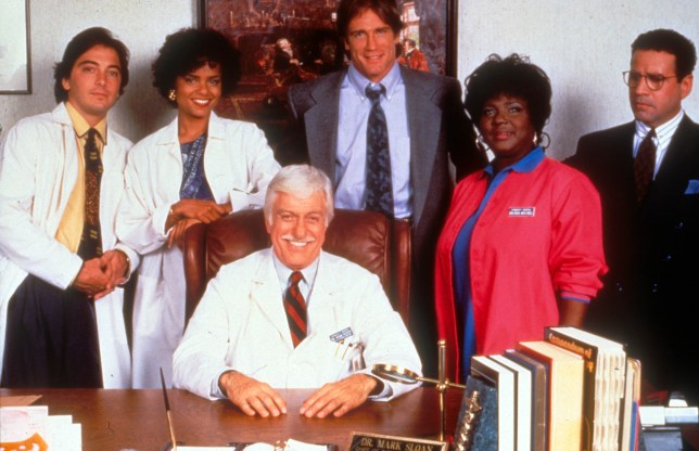 No Merchandising. Editorial Use Only. No Book Cover Usage. Mandatory Credit: Photo by Moviestore/REX Shutterstock (1552111a) Diagnosis Murder , Scott Baio, Victoria Rowell, Michael Tucci, Dick Van Dyke Film and Television