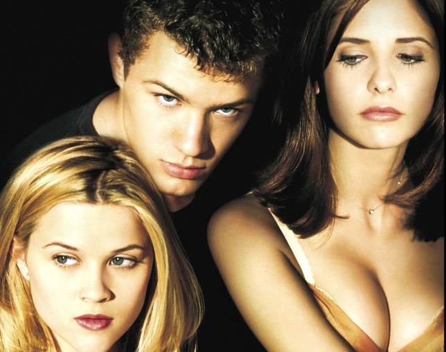 No Merchandising. Editorial Use Only. No Book Cover Usage Mandatory Credit: Photo by Columbia/Everett/REX Shutterstock (423894d) CRUEL INTENTIONS, Reese Witherspoon, Ryan Phillippe, Sarah Michelle Gellar, 1999 VARIOUS FILM STILLS