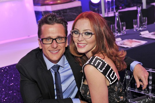 Mandatory Credit: Photo by Imagewise Ltd/REX Shutterstock (5226048k) Ritchie Neville and Natasha Hamilton Specsavers 'Spectacle Wearer of the Year', London, Britain - 06 Oct 2015