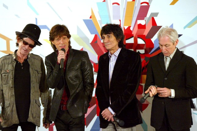 Mandatory Credit: Photo by Masatoshi Okauchi/REX Shutterstock (579089l) Keith Richards, Mick Jagger, Ronnie Wood and Charlie Watts THE ROLLING STONES PRESS CONFERENCE FOR THE BIGGER BAND TOUR, TOKYO, JAPAN - 20 MAR 2006