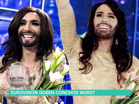 Twitter can't get over how much Rylan Clark and Conchita Wurst look like each other