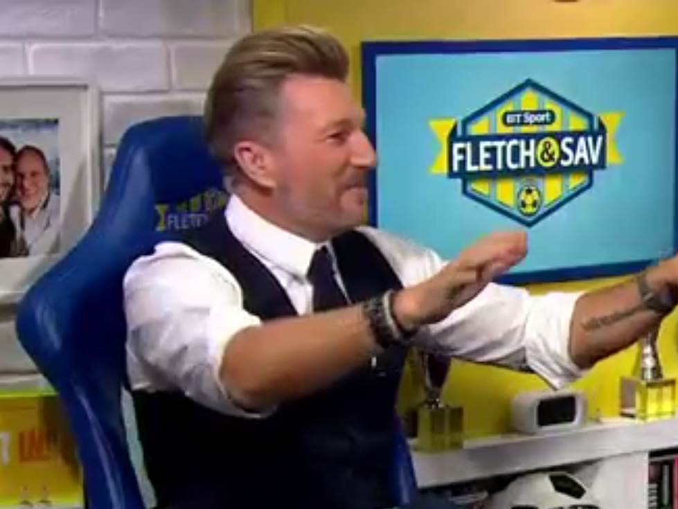 Robbie Savage actually claims he was world-class in hilarious TV rant