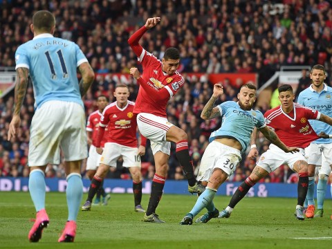 Manchester United manager Louis van Gaal has found world class centre-back already at the club, Chris Smalling