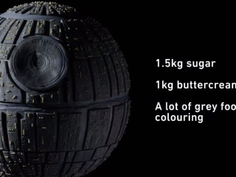 Star Wars celebrated the Bake Off final by making a Death Star cake – and blowing it up