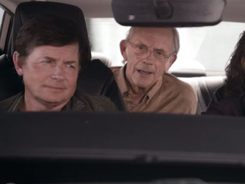 Back To The Future Day: That Toyota ad reuniting Christopher Lloyd and Michael J Fox is finally here…