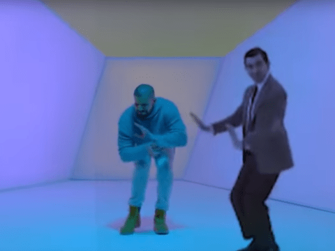 Drake dancing with Mr Bean is our favourite Hotline Bling mashup ever