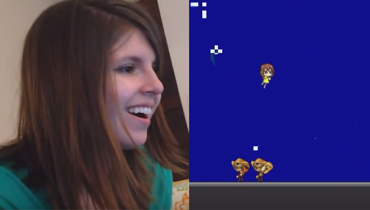 Guy creates a whole Super Mario Bros-style game to propose to his girlfriend