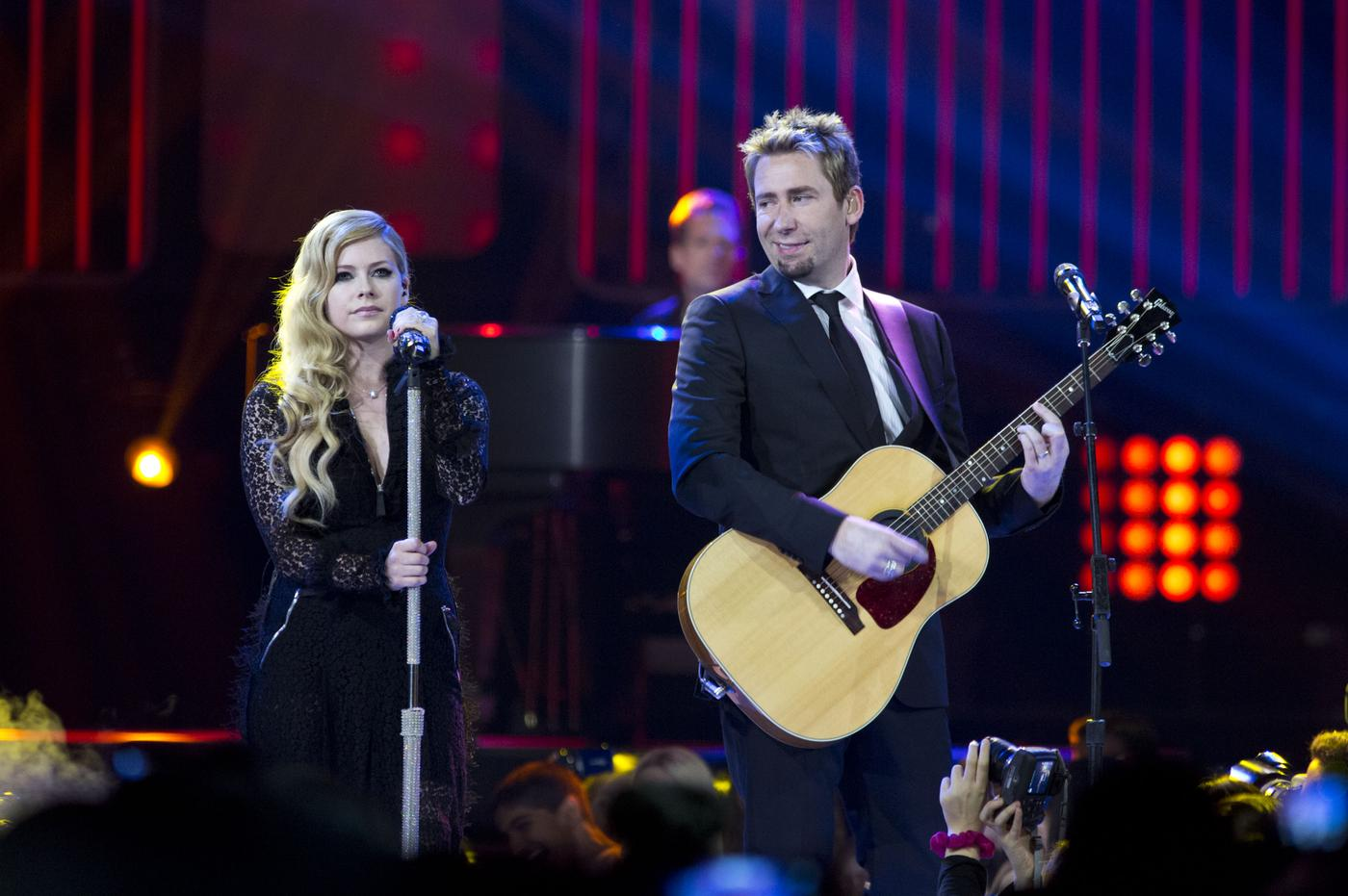Divorcees Avril Lavigne and Chad Kroeger are working on new music together