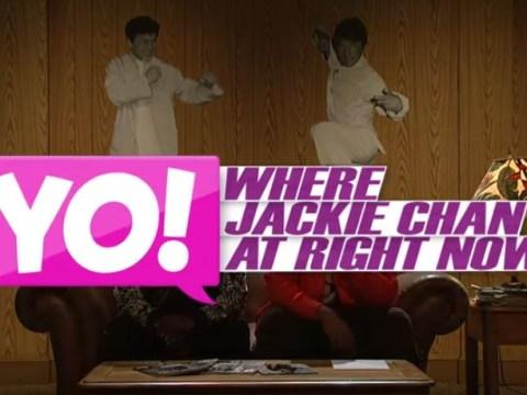 Yo, Tracy Morgan and Kenan Thompson! We found Jackie Chan