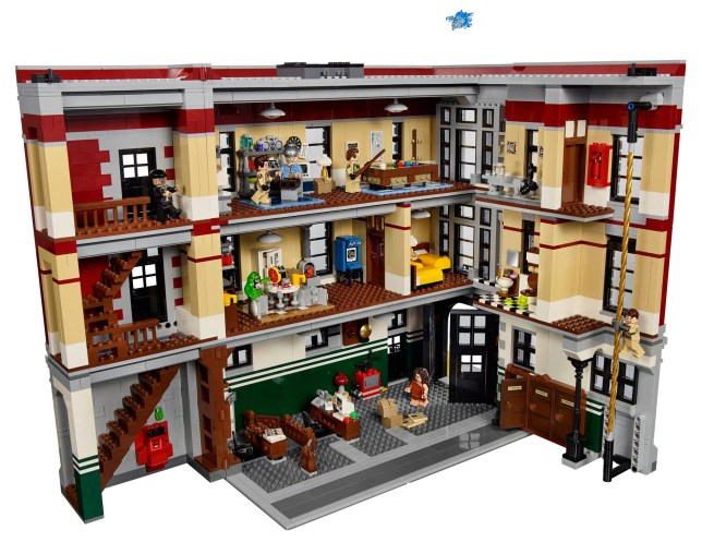 LEGO Ghostbusters Firehouse Headquarters Updated on Wednesday Your first look at the official images of set 75827 Firehouse Headquarters! Get ready to bust some ghosts and recreate iconic Ghostbusters scenes with the 2-story Firehouse Headquarters! Available starting January 2016 http://bit.ly/FirehouseHeadquarters Credit: Lego