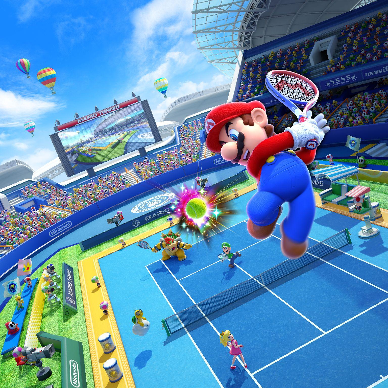 Mario Tennis: Ultra Smash review – you got served