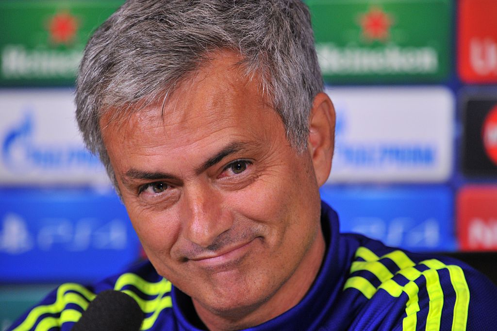 Chelsea boss Jose Mourinho wants Olympiacos to knock Arsenal out of Champions League