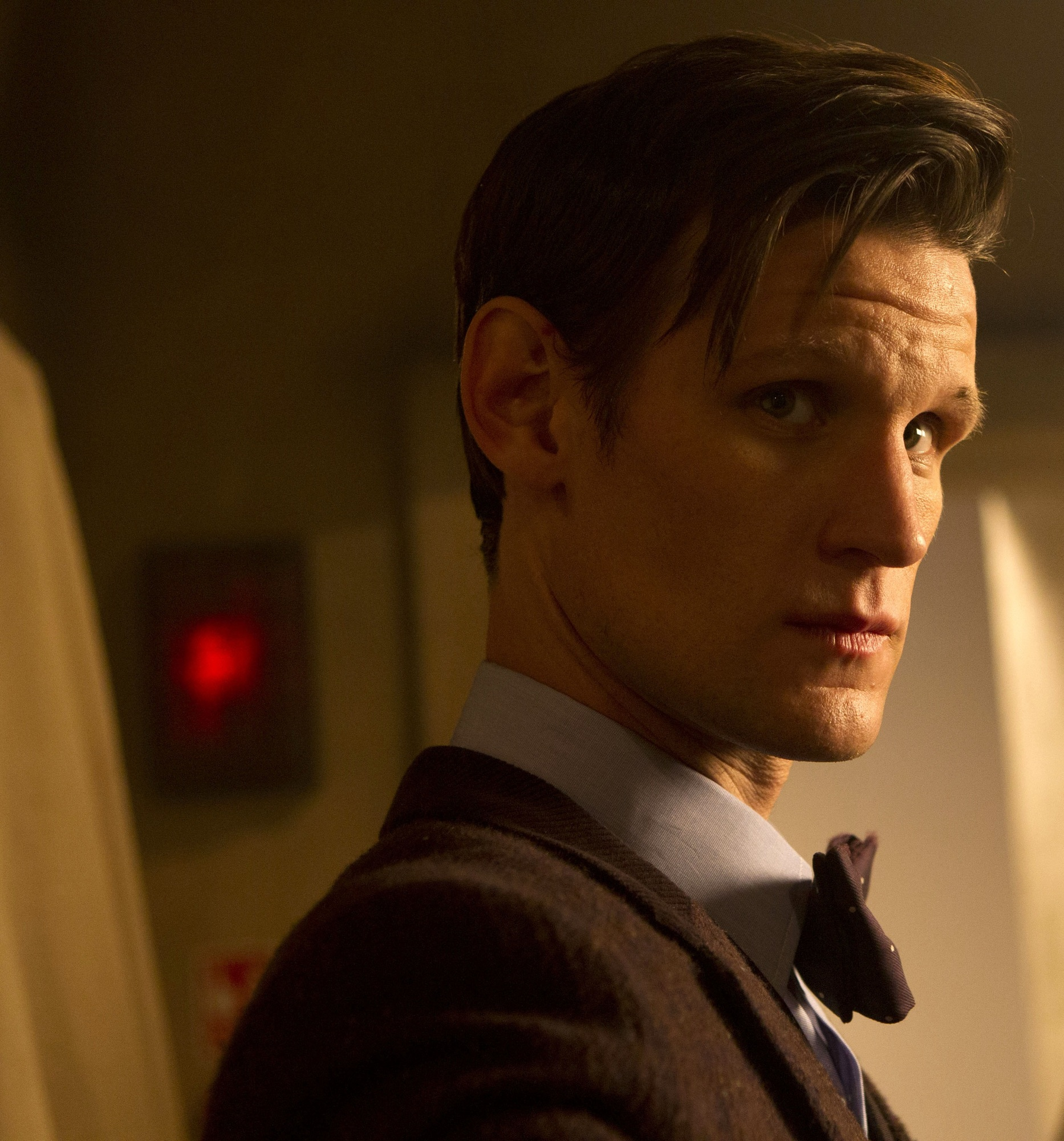 Could Matt Smith be back in the TARDIS soon? (Picture: BBC)