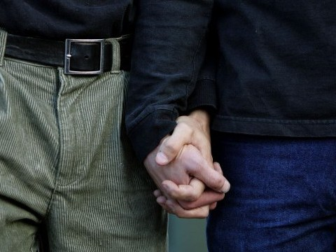 Gay couple can't marry because they're technically father and son