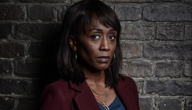WARNING: Embargoed for publication until 10/02/2015 - Programme Name: EastEnders - TX: 17/02/2015 - Episode: 5015 (No. n/a) - Picture Shows: DENISE. Denise Fox (DIANE PARISH) - (C) BBC - Photographer: Jack Barnes/Kieron McCarron