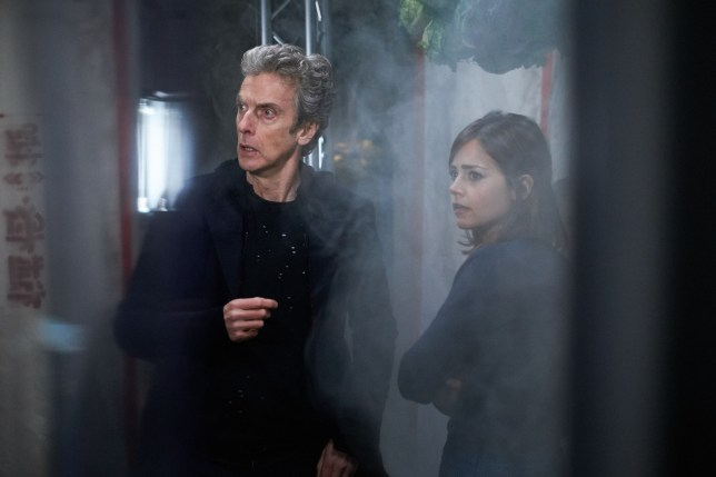 Doctor Who series 9, Sleep No More by Mark Gatiss and starring Peter capaldi and Jenna Coleman