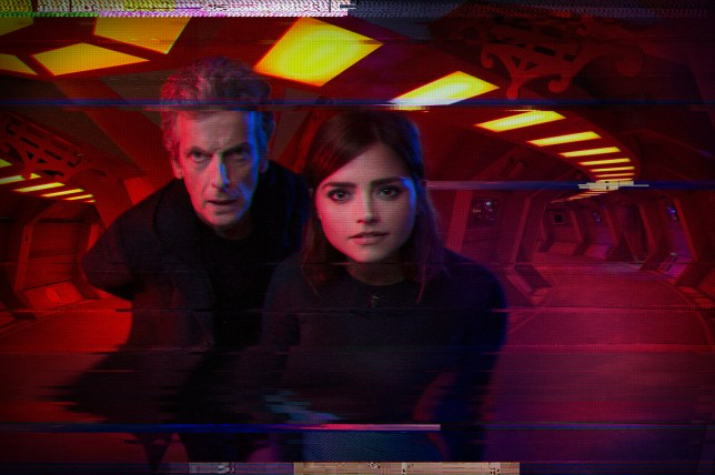 WARNING: Embargoed for publication until 00:00:01 on 08/11/2015 - Programme Name: Doctor Who - TX: 14/11/2015 - Episode: SLEEP NO MORE (By Mark Gatiss) (No. 9) - Picture Shows: ***EMBARGOED UNTIL 8th NOV 2015*** Doctor Who (PETER CAPALDI), Clara (JENNA COLEMAN) - (C) BBC - Photographer: Simon Ridgway