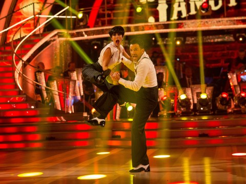 Peter Andre just scored a pair of perfect 10s for his Strictly Come Dancing Charleston