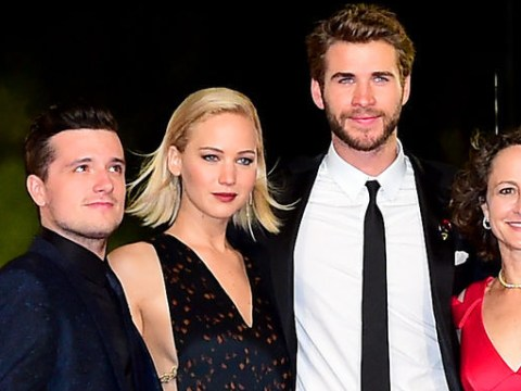 Jennifer Lawrence and Liam Hemsworth got very emotional at The Hunger Games: Mockingjay Part 2 premiere