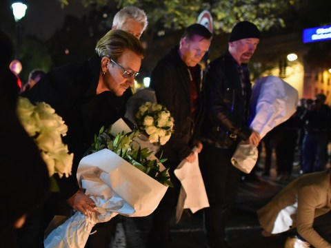Bono calls Paris attacks 'the first direct hit on music' after cancelling U2 gig