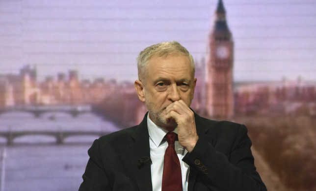 Britain's Labour Party leader Jeremy Corbyn speaks on the BBC's Andrew Marr Show in this photograph received via the BBC in London, Britain November 29, 2015. REUTERS/Jeff Overs/BBC/Handout via ReutersATTENTION EDITORS - FOR EDITORIAL USE ONLY. NO RESALES. NO ARCHIVE. NOT FOR SALE FOR MARKETING OR ADVERTISING CAMPAIGNS. THIS IMAGE HAS BEEN SUPPLIED BY A THIRD PARTY. IT IS DISTRIBUTED, EXACTLY AS RECEIVED BY REUTERS, AS A SERVICE TO CLIENTS. NO COMMERCIAL OR BOOK SALES. NO THIRD PARTY SALES. NOT FOR USE BY REUTERS THIRD PARTY DISTRIBUTORS.