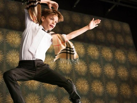 Romeo Beckham, James Corden and Naomi Campbell dance up a storm for Burberry's Christmas advert