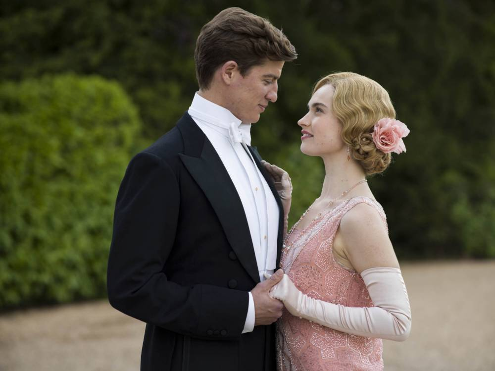 Lily James is returning to Downton Abbey just in time for Christmas