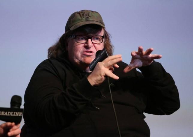 Mandatory Credit: Photo by Buchan/Variety/REX Shutterstock (5355587nk) Michael Moore The Contenders Presented by Deadline, Los Angeles, America - 07 Nov 2015
