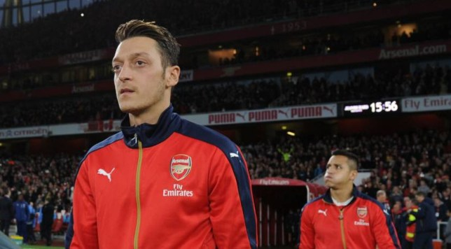 LONDON, ENGLAND - NOVEMBER 08: Mesut Ozil of Arsenal before the Barclays Premier League match between Arsenal and Tottenham Hotspur at Emirates Stadium on November 8, 2015 in London, England. (Photo by Stuart MacFarlane/Arsenal FC via Getty Images)