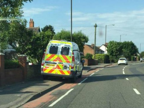 Driver turned tables on speed camera police and got them booked for dangerous parking