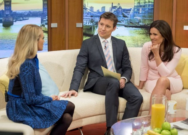 EDITORIAL USE ONLY. NO MERCHANDISING Mandatory Credit: Photo by Ken McKay/ITV/REX Shutterstock (5363258bd) Carrie Underwood with Ben Shephard and Susanna Reid 'Good Morning Britain' TV Programme, London, Britain - 12 Nov 2015 CARRIE UNDERWOOD - Award winning American singer songwriter with 7 Grammys, over 54 million albums sold and 21 number one records!! On her new album Storyteller, her single Smoke Break and her live shows in the New Year.Carrie's also one of the most successful TV talent show winners after winning American Idol in 2005.