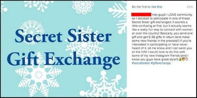 Christmas Chain Text.Watch Out For Facebook Christmas Gift Scam That S Fooling