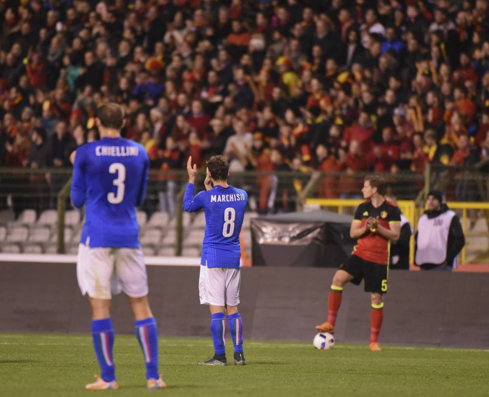 Belgium v Italy friendly paused in 39th minute to honour 39 victims of Heysel Stadium disaster