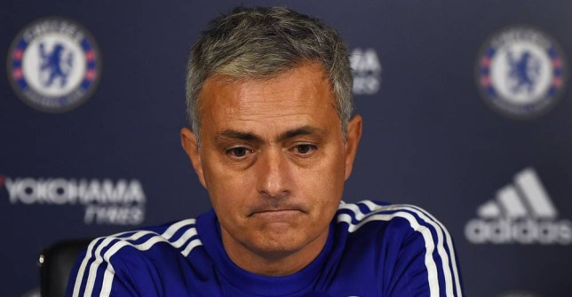 Football - Chelsea - Jose Mourinho Press Conference - Chelsea Training Ground - 20/11/15 Chelsea manager Jose Mourinho during the press conference Action Images via Reuters / Alan Walter Livepic EDITORIAL USE ONLY.