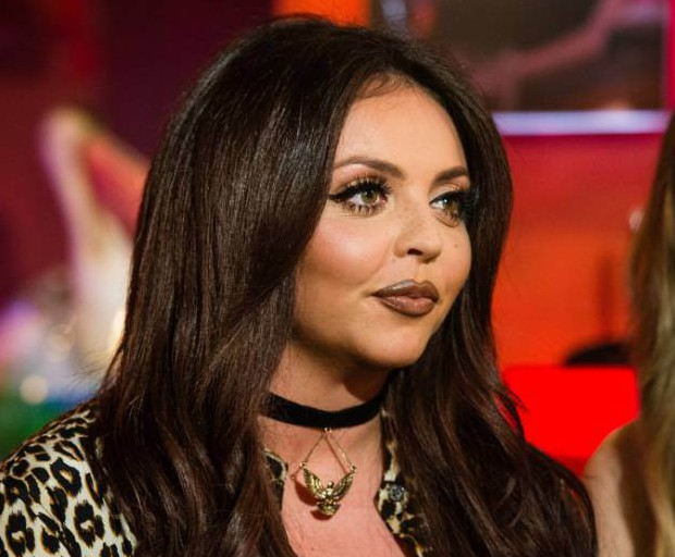 """LONDON, ENGLAND - NOVEMBER 20: Jesy Nelson of Little Mix during a live broadcast of """"TFI Friday"""" on November 20, 2015 in London, England. (Photo by Jeff Spicer/Getty Images)"""