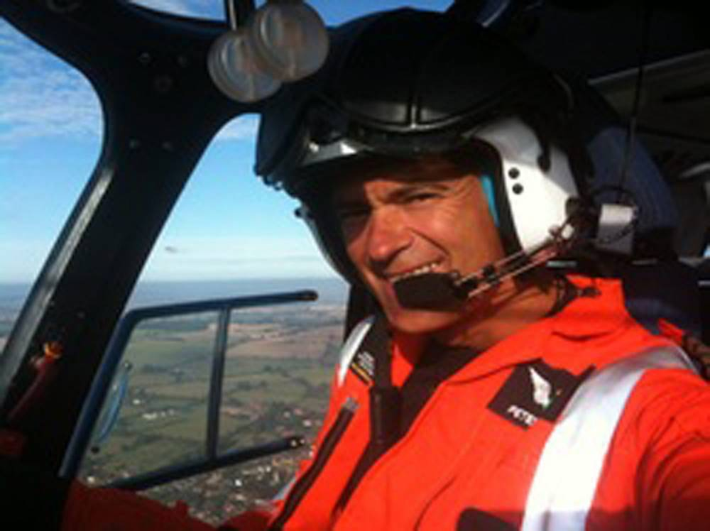 16/01/13 Pictured : Captin Peter Barnes Captin Peter Barnes diead whilst flying an Helicopter in Vauxhail London today. ***CAPTION UPDATE*** 22/11/15**** 2 week Inquest due to start today ****