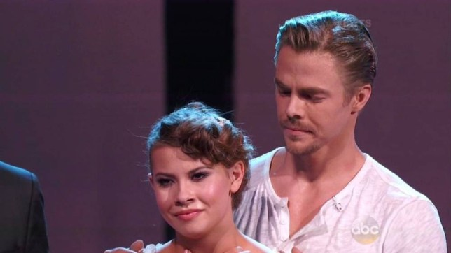 "24 November 2015 - Los Angeles - USA **** STRICTLY NOT AVAILABLE FOR USA *** Bindi Irwin leaves judges, her mum and the audience in tears after emotional freestyle dance on Dancing With The Stars. The teen was left close to tears herself as she had an unexpected surprise as the end of her second dance. As their dance came to an end a picture of a young Bindi and her dad appeared behind them and the tears again flowed for Bindi and her watching family. ""I love you,"" she told Derek as she choked back the tears and buried her head in his shoulder. Derek had refused to use any gimmicks or props and focusing just on the dance. Bindi said she felt as if Derek had choreographed it as if three people were out on the dance floor, including her late father Steve Irwin. ""I have tried to just remember his strength knowing that dad is kind of still with me,"" she told Derek during rehearsals as the tears flowed between the pair. Judge Julianne Hough fought back tears of her own as she told Bindi she was 'so special' and had taken all the judges and viewers on the journey with them. Bindi's mum Terri Irwin as well as several audience members were also shown either crying or wiping away tears. Bindi got a perfect score for both dances, putting her into the final and a chance at winning the Mirrorball trophy, along with Nick Carter and Alek Skarlatos. XPOSURE PHOTOS DOES NOT CLAIM ANY COPYRIGHT OR LICENSE IN THE ATTACHED MATERIAL. ANY DOWNLOADING FEES CHARGED BY XPOSURE ARE FOR XPOSURE'S SERVICES ONLY, AND DO NOT, NOR ARE THEY INTENDED TO, CONVEY TO THE USER ANY COPYRIGHT OR LICENSE IN THE MATERIAL. BY PUBLISHING THIS MATERIAL , THE USER EXPRESSLY AGREES TO INDEMNIFY AND TO HOLD XPOSURE HARMLESS FROM ANY CLAIMS, DEMANDS, OR CAUSES OF ACTION ARISING OUT OF OR CONNECTED IN ANY WAY WITH USER'S PUBLICATION OF THE MATERIAL. BYLINE MUST READ : ABC/XPOSUREPHOTOS.COM PLEASE CREDIT AS PER BYLINE *UK CLIENTS MUST CALL PRIOR TO TV OR ONLINE USAGE PLEASE TELEPHONE 44 208 344 2007"