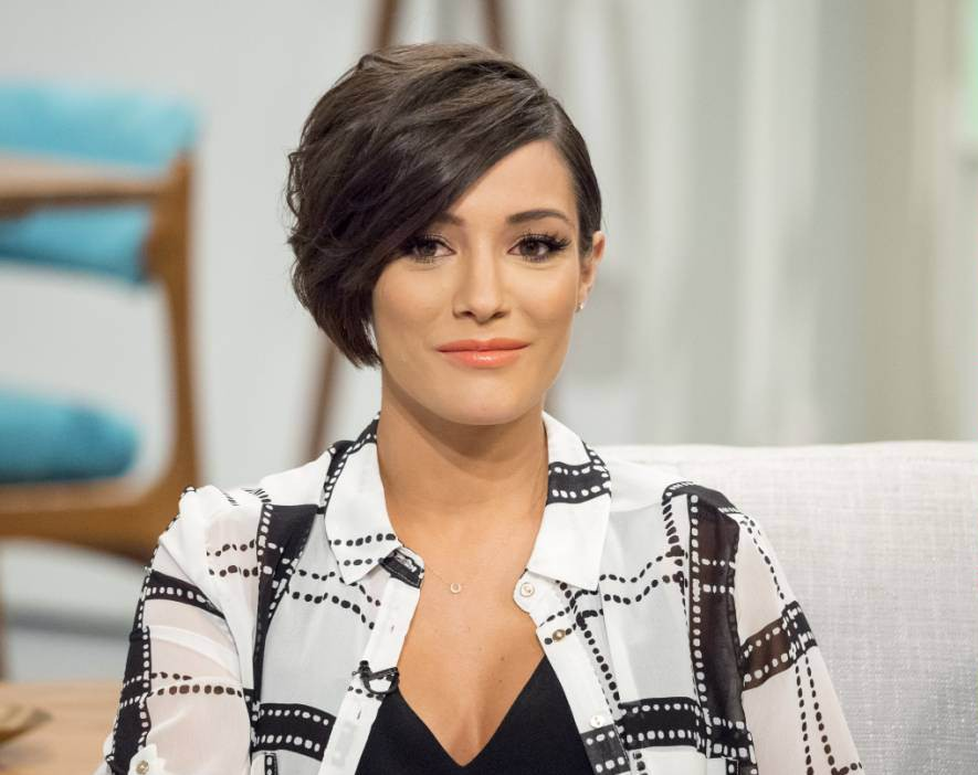 EDITORIAL USE ONLY. NO MERCHANDISING.. Mandatory Credit: Photo by Ken McKay/ITV/REX Shutterstock (4781320i).. Frankie Bridge.. 'Lorraine' ITV TV Programme, London, Britain. - 20 May 2015.. HIGH STREET FASHION AWARDS - Rebecca Ferguson, Sophie Ellis Bexter and Jamelia are just a few of the stars who attended last night's High Street Fashion Awards. This morning we're bringing you all the backstage glamour, red carpet fashion and of course the winners. First, we take a look at the build up to the big night and chat to Frankie Bridge, Mark Heyes and Lynne McKenna in the studio...