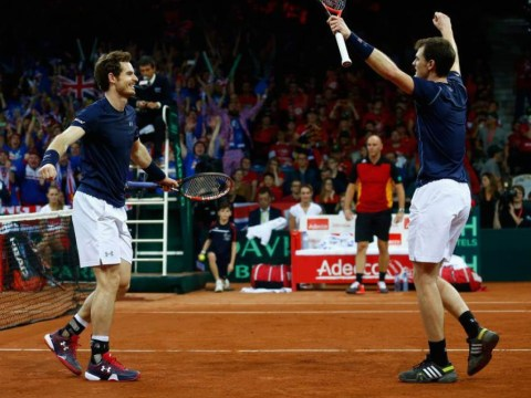 Andy Murray and Jamie Murray basically win 2015 Davis Cup final for Great Britain